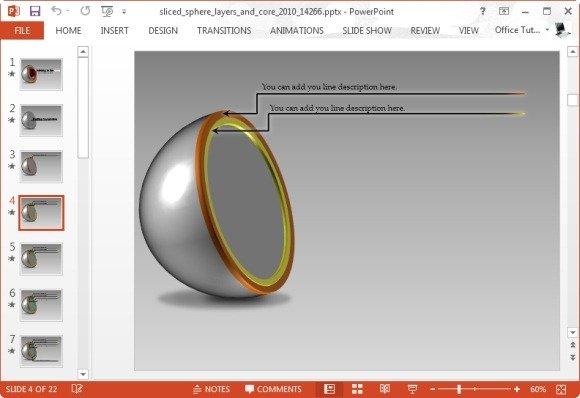 create animated core diagrams