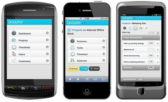 doolphy online project management app