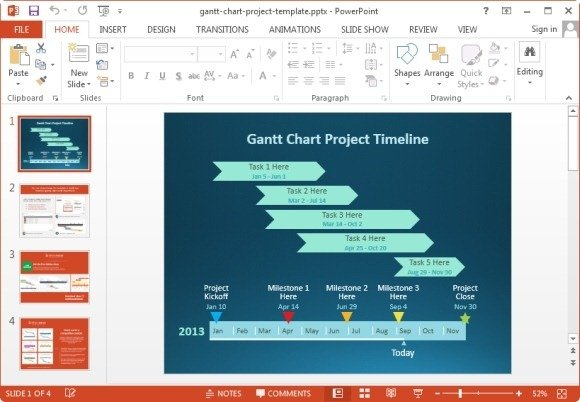 10 best gantt chart tools templates for project management free gantt chart powerpoint template ccuart Image collections