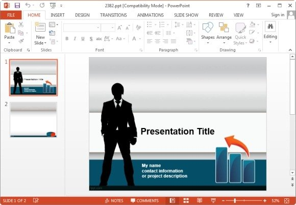 awesome marketing plan templates for powerpoint, Modern powerpoint