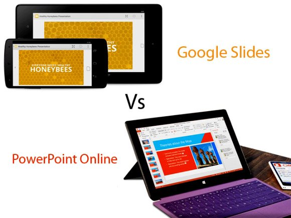google slides vs powerpoint online