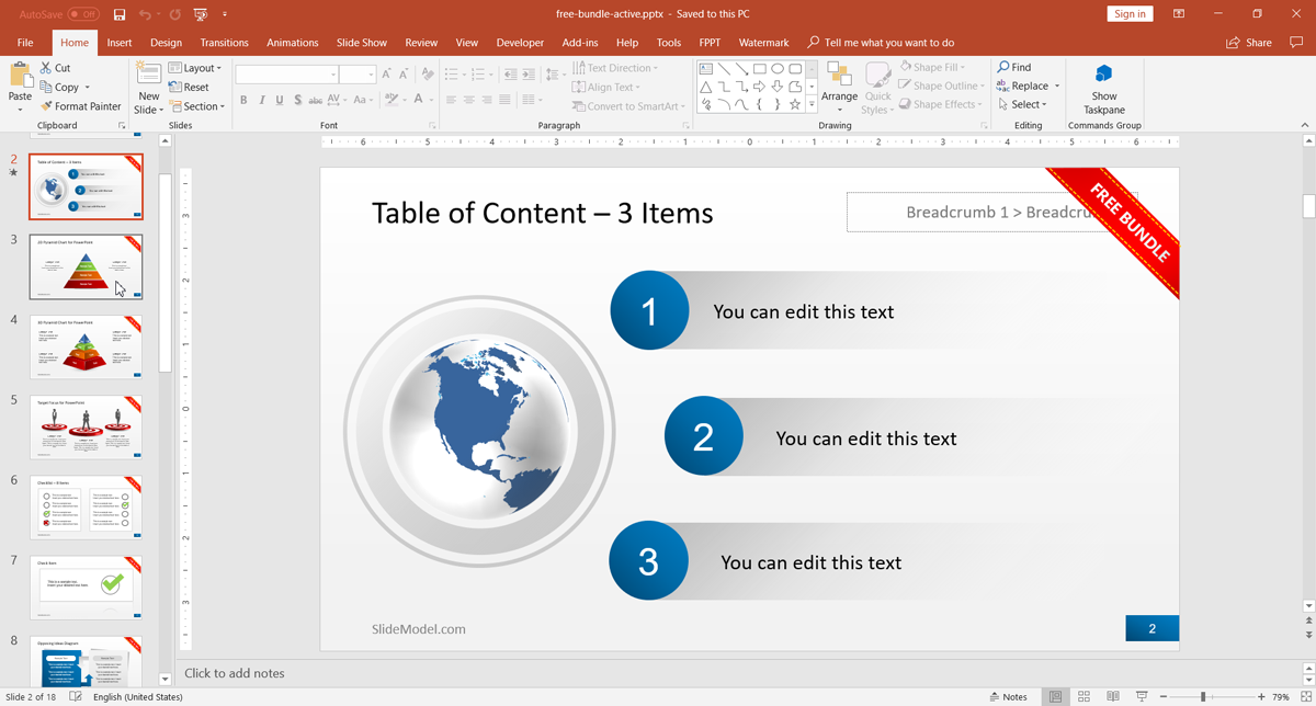 SlideModel Offers Free Bundle For PowerPoint Presentations