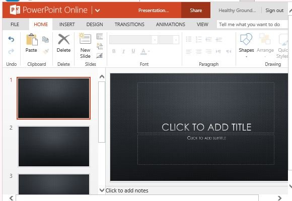 mesh dark abstract powerpoint template, Modern powerpoint