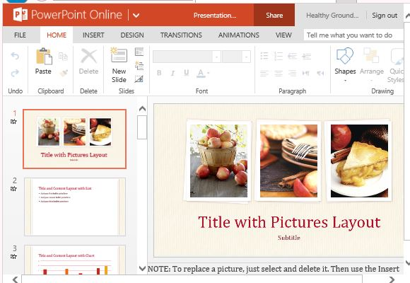 Food presentation template for powerpoint online entice your customers and audience with this sumptuous looking presentation forumfinder Image collections