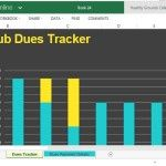 Keep Track of Your Club Membership and Club Dues