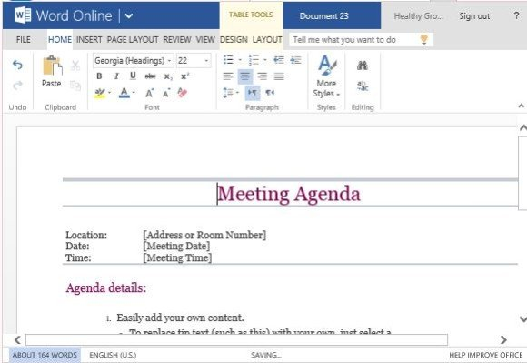 ... Free Meeting Minutes Template For Word. Meeting Agenda For All Types Of  Meetings In School Office Or Organization  Free Agenda Template Word