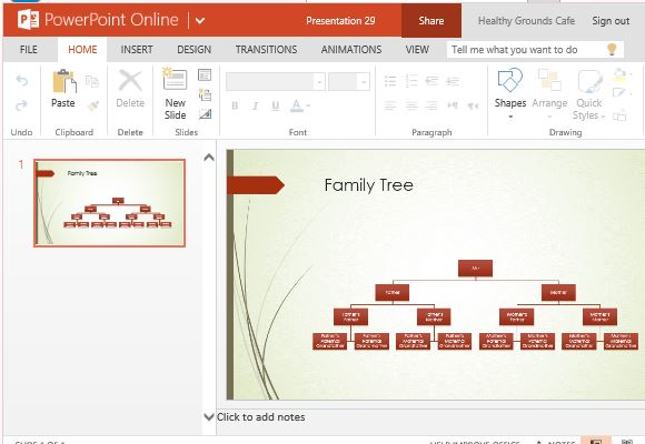 family tree template word 2007 - family tree chart maker template for powerpoint online