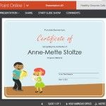 Present This Certificate to Young Students and See Their Faces Light Up