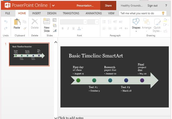 Smartart diagram template for powerpoint online standard timeline template using smartart diagram toneelgroepblik Images