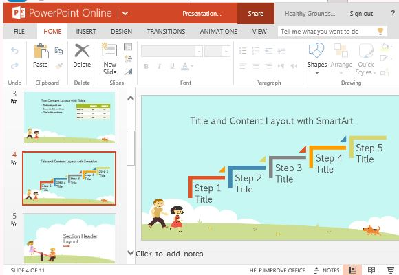 Use This Template for Many Children-Oriented Presentations