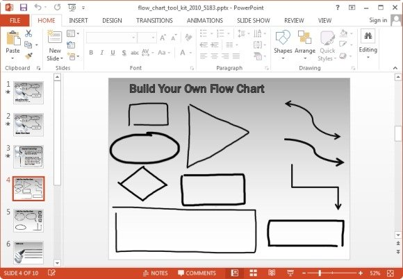 Animated Flowchart Maker Templates For PowerPoint And Keynote