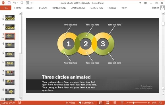 circle chart patterns