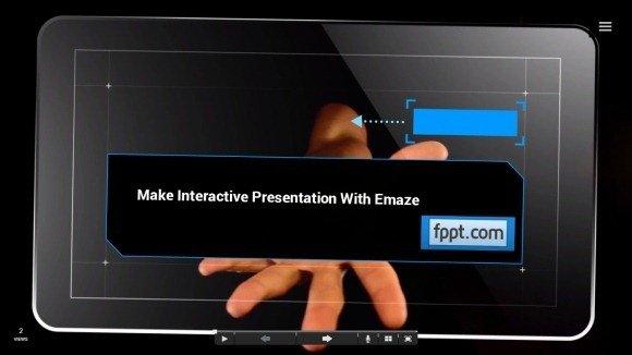 emaze fullscreen mode