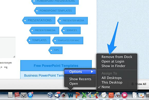 How to uninstall office 2011 for mac step 3 remove office icons from dock toneelgroepblik Image collections