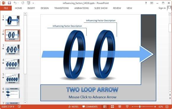 two loop arrow slide