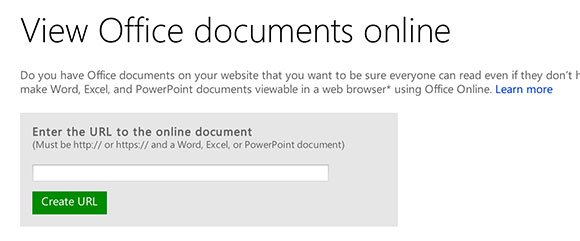 View PowerPoint Presentation Online using Office Online Web Viewer