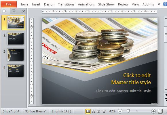 best currency powerpoint templates