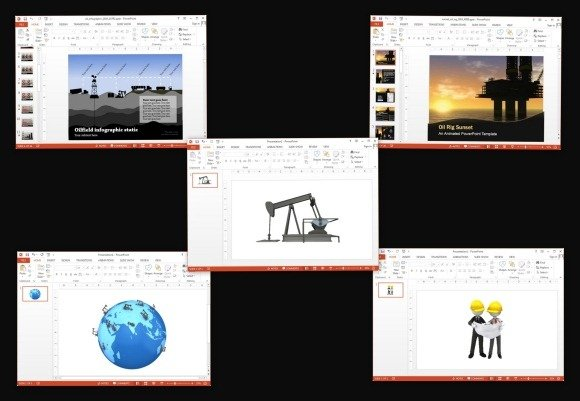 Animated PowerPoint Templates For Oil Industry