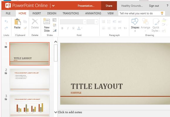 elegant business red line template for powerpoint
