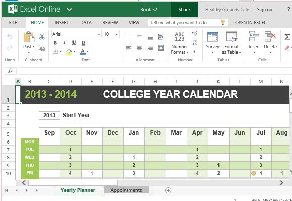 Set Appointments and Meetings with this Handy Calendar for Students