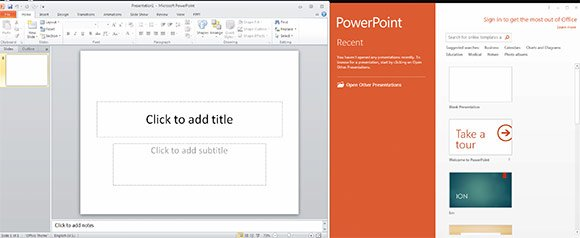 Dual install powerpoint 2013 and 2010 on the same computer toneelgroepblik Choice Image