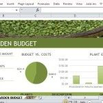 Budget Planning Template Specially Made for Gardening