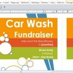 Car Wash Fundraiser Door Hanger Template