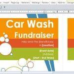 Car Wash Fundraiser Door Hanger Template