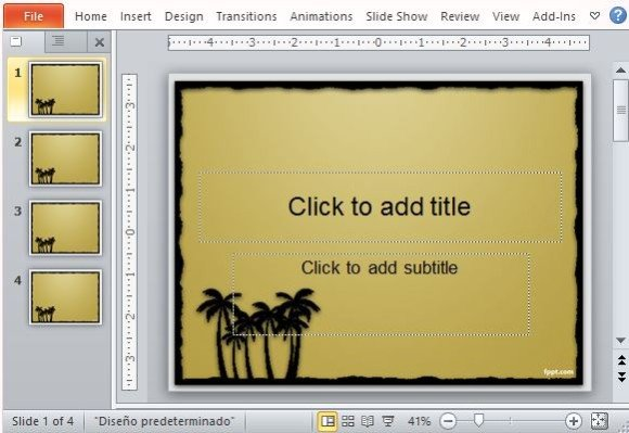 Channel the Beach Into Your Presentations