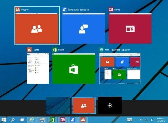All you need to know about whats new in windows 10 create multiple desktops in windows 10 toneelgroepblik Choice Image