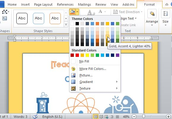 Customize the Design and Theme to Your Own Preference