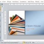 School Open House Template for Teachers