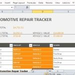 Special Expense Tracker for Vehicle Repairs