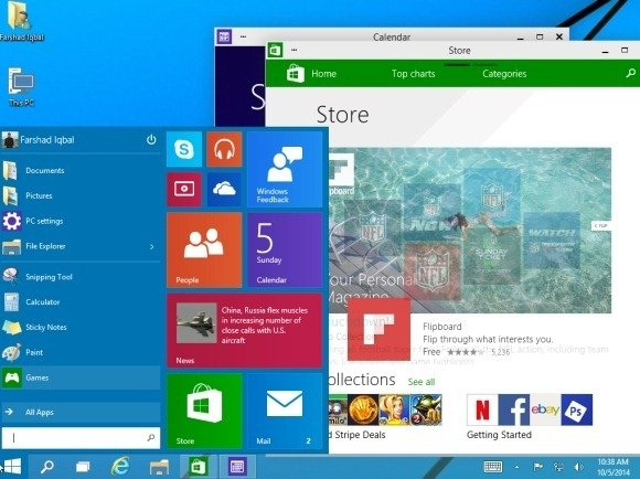 All you need to know about whats new in windows 10 windows 10 desktop toneelgroepblik Choice Image