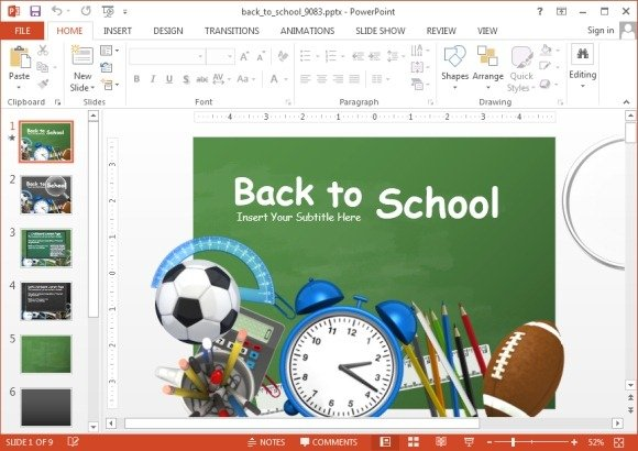 animated school powerpoint templates, Powerpoint templates