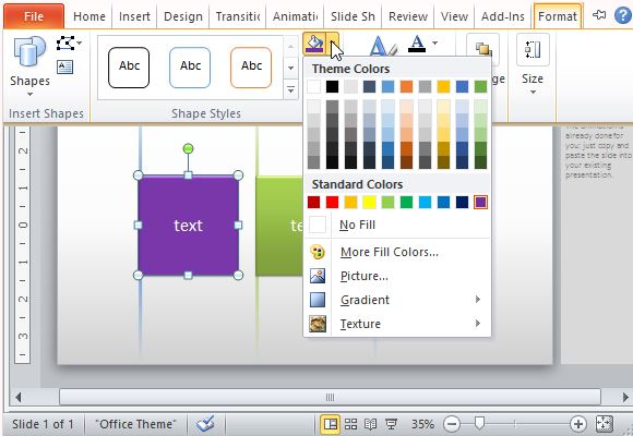 Customize the Template to Suit Your Own Preference and Theme