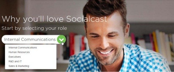 Enterprise social networking with Socialcast