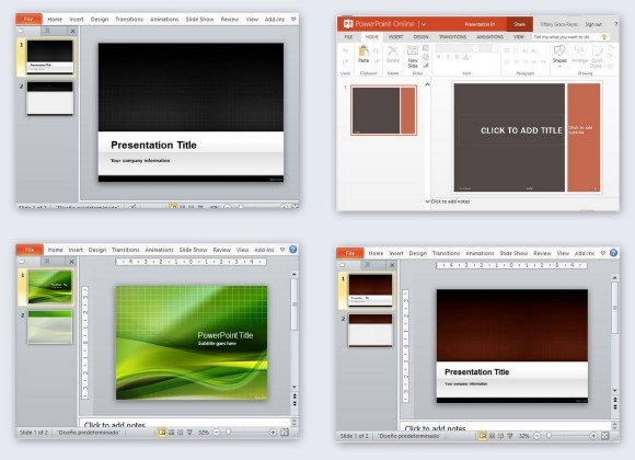 Free Grid PowerPoint Templates