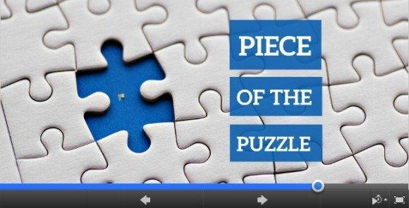 piece of the puzzle prezi template - Prezi Resume Template