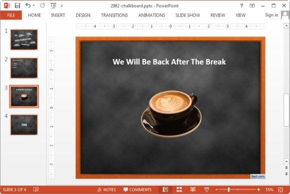 background image removed in PowerPoint 2013