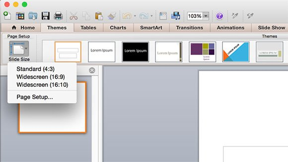 How to make a widescreen powerpoint in microsoft office 2011 for mac toneelgroepblik Images