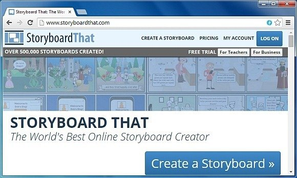StoryBoardThat: Drag & Drop Images To Create Animated Storyboards