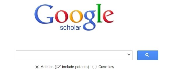 how to search with google scholar