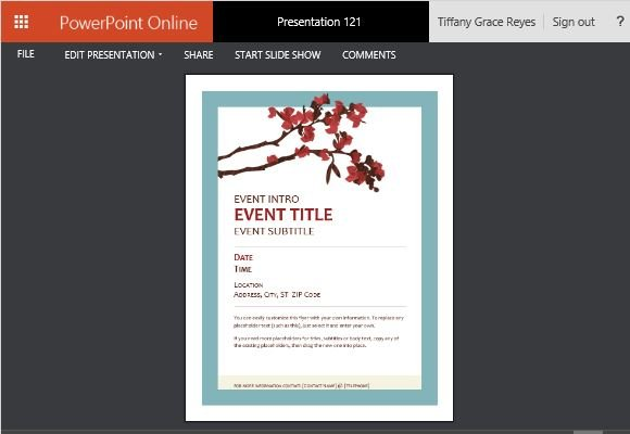 Versatile Springtime Event Flyer Template For Any Occasion