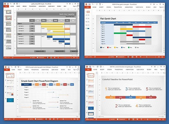 Animated gantt chart powerpoint templates animated gantt powerpoint templates toneelgroepblik Choice Image