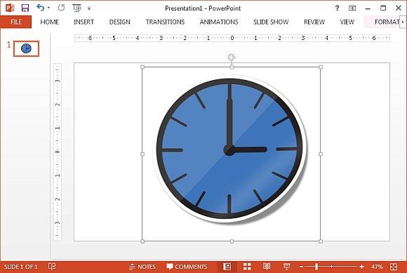 Clock icon clipart