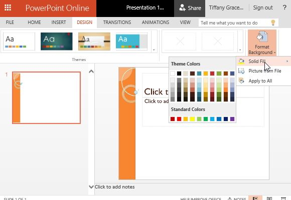 Customize the Colors to Suit Your Own Preferences