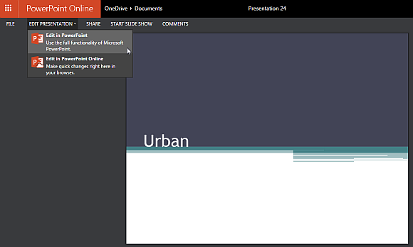 Free urban theme for powerpoint online edit template offline or from powerpoint online toneelgroepblik Images