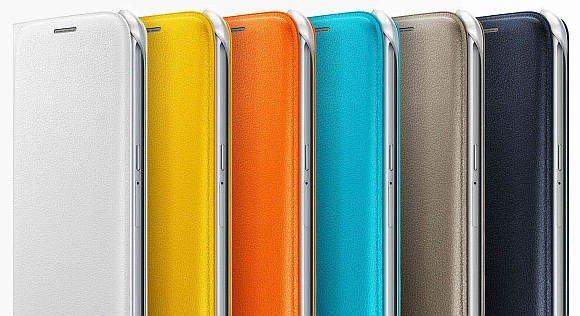 Galaxy S6 flip wallet cover