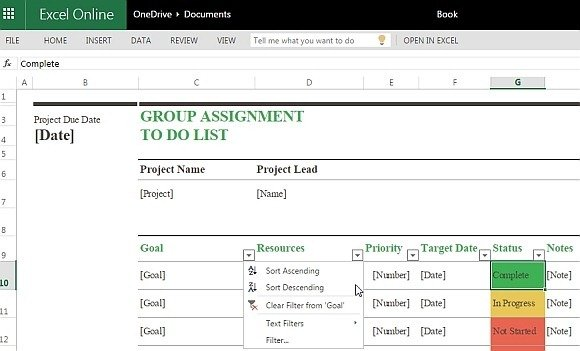 Prioritize group assignment tasks